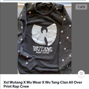 Wu Wear All Over Print Crew